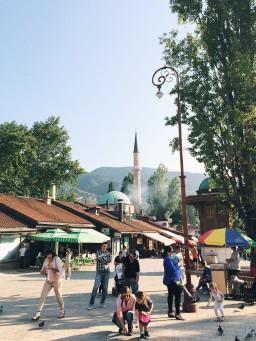 Sarajevo through my phone