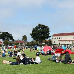 Presidio park picnic